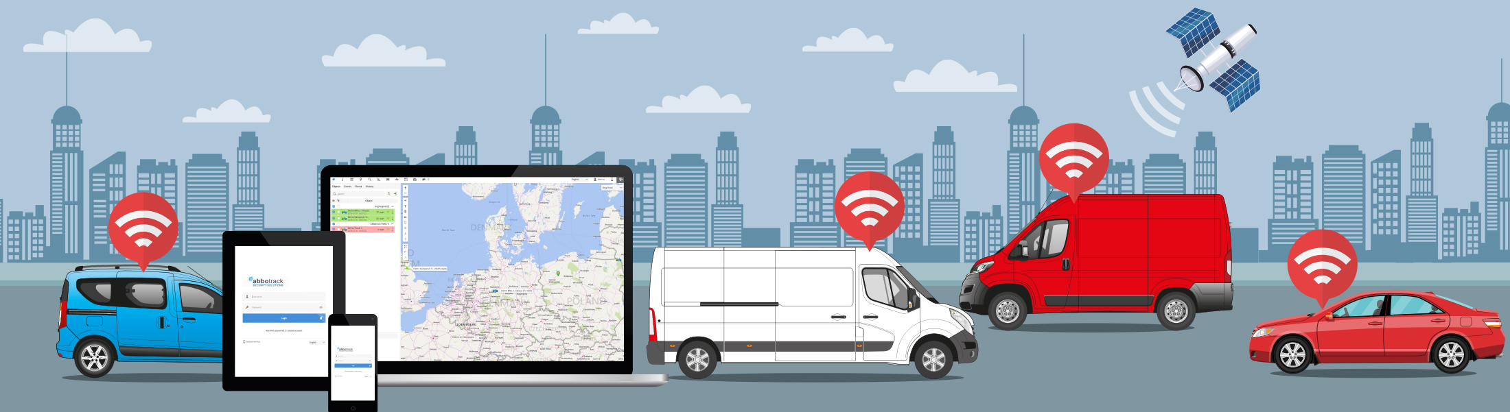 Vehicle GPS Tracking Services - Hull