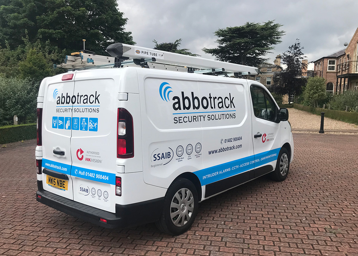 Contact Abbotrack Security Solutions in Hull
