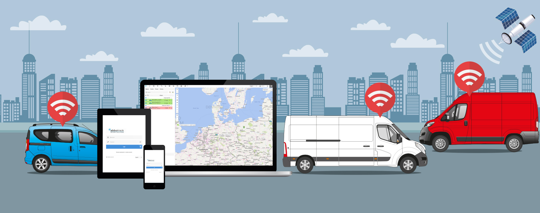 Vehicle GPS Tracking Services Hull