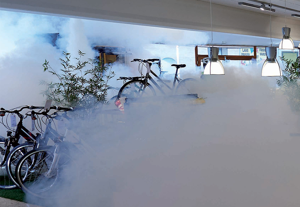 Smoke Cloak Systems for business owners in Hull