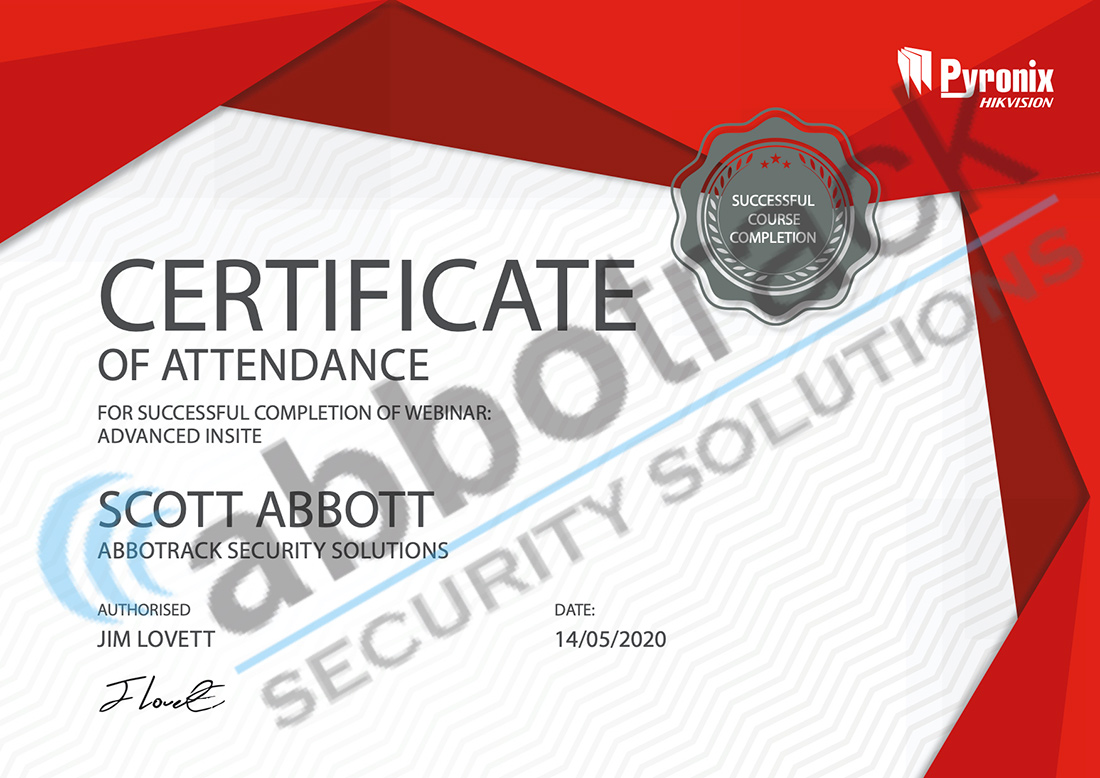 Certificate-for-completing-the-training-for-Advanced-InSite