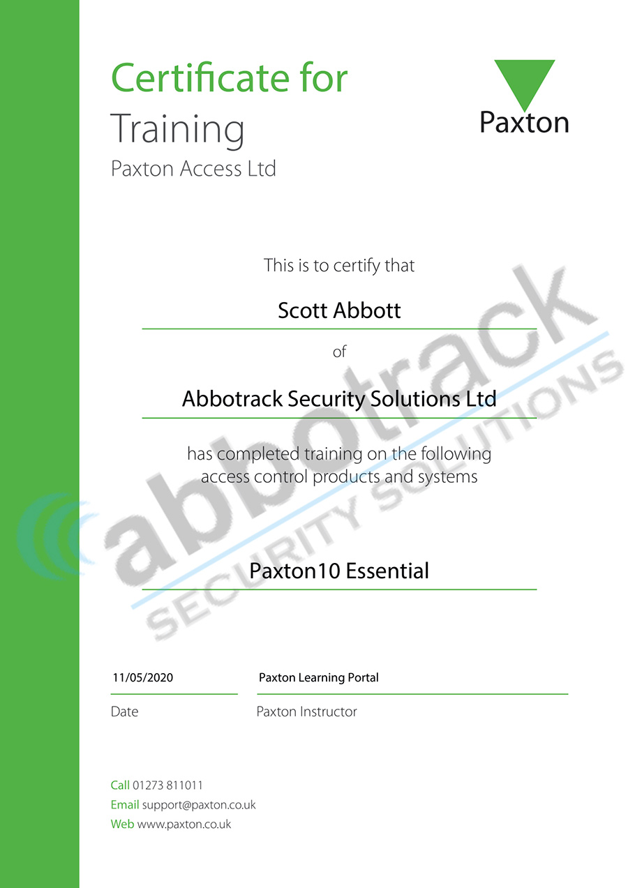 Certificate-for-completing-the-training-for-P10-Essential