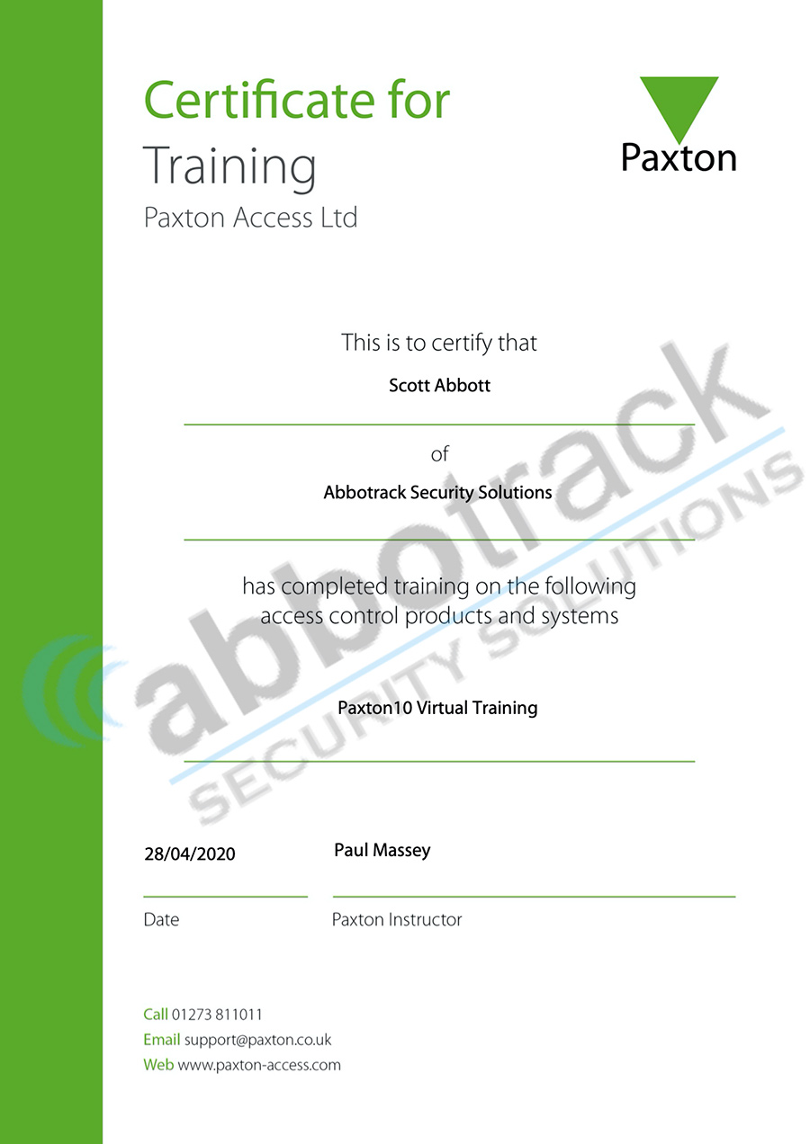 Certificate-for-completing-the-training-for-Paxton10-Virtual-Training