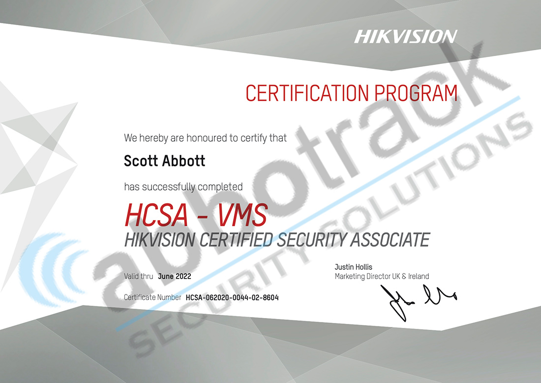 Certified-Security-Professional-for-Hikvision-HCSA-VMS