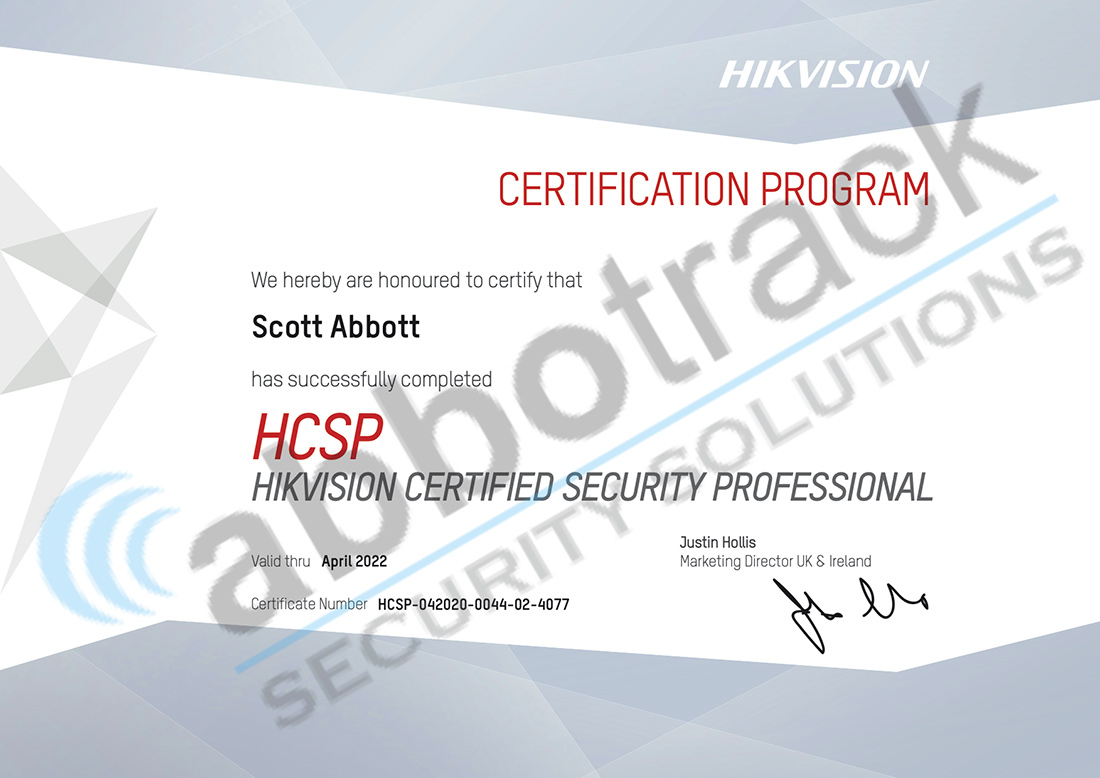 Certified-Security-Professional-for-Hikvision-HCSP-